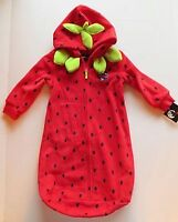 strawberry bunting bag