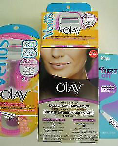 Hair removal -  Schick Nair Veet Inhibitif Olay Bliss Parissa