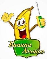 Banana Service can fix your laptop RELIABLE SERVICE