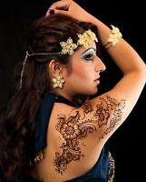 Tatouage au henné temporaire PRIX SPÉCIAL d'une semaine