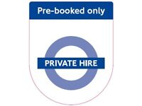 Private Hire Taxi Drivers Needed