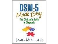 DSM 5 Made Easy by James Morrison psychology book NEW
