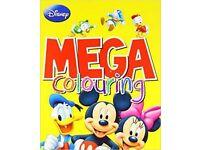 Disney Mega Colouring Books (Set of 4)
