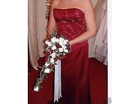 ALFRED ANGELO WEDDING OR EVENING DRESS - SIZE 16