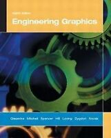 Engineering Graphics (Hardcover), Eighth Edition - NEW