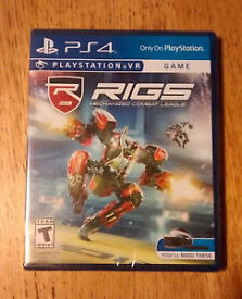 RIGS PS4 game Playstation VR only