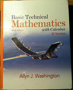 Basic Technical Mathematics with Calculus SLC Cornwall Ontario image 1