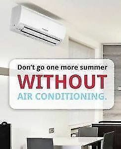 Don't go one more summer without AC! 6 months no payments !!