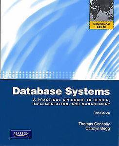 Database Systems 5th International Edition by Carolyn Begg Waterloo Inner Sydney Preview