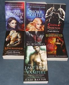 PARANORMAL ROMANCE 7 NEW PAPERBACKS FOR PRICE OF 2 SAVE $52