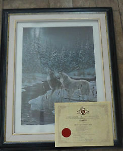 David Alexander Risk Picture Numbered and Signed