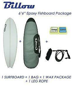 "6'6"" Epoxy Fish Surfboard Package Holsworthy Campbelltown Area Preview"