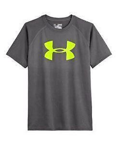Youth under armour shirts ebay for Under armour swim shirt youth