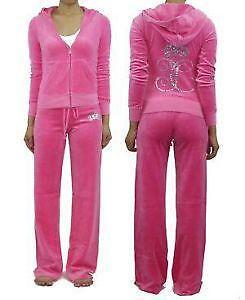 Velour Tracksuit  Women s Clothing  6aa8fc22f