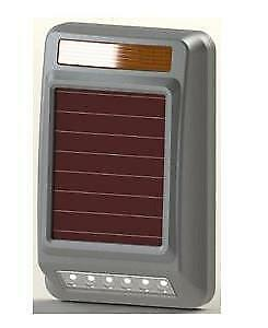 Solar-power outdoor Siren Strobe Wireless Alarm Light