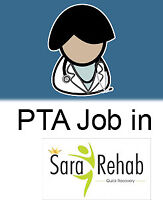 Part time and Full time Physiotherapist Assistant (PTA)