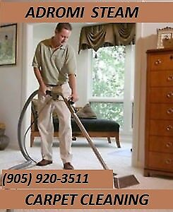 PROFESSIONAL CARPET CLEANING FOR MOVE IN/ MOVE OUTS ADROMI STEAM