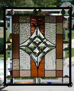 Stained Glass Window Film Panels Clings Hangings Ebay