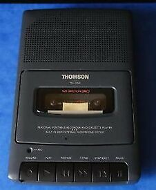 Thomson MG 2000 Dictation Machine / Cassette Recorder
