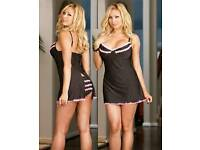 Queen : Candy Stripe Babydoll & Panty