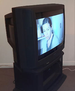 TV Toshiba 36 po, tube écran