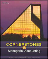 Cornerstones of Managerial Accounting, 1st CAD edition