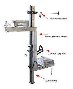New Pump Jack Scaffolding and Ladders