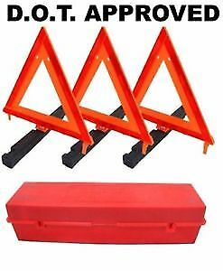 NEW Roadside warning triangle kit