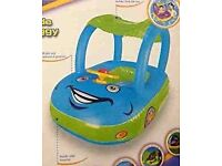 inflatable baby float