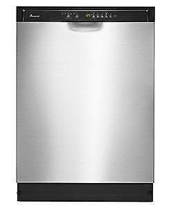 24-IN BUILT-IN DISHWASHER STAINLESS STEEL |Amana ADB1700ADS Fully Integrated Dishwasher(BD-1036)