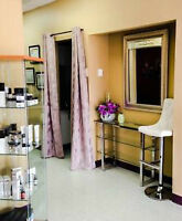 Room and Chair Rental for Esthetician and Hair Dresser!