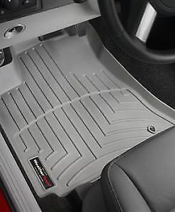 Front grey weather teck floor mats fits 2010 chevy malibu