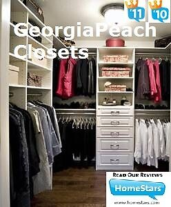 CLOSET ORGANIZERS - CUSTOM DESIGN * BUILD * INSTALL