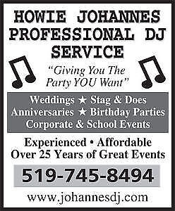 ***DJ SERVICES FOR YOUR SPECIAL EVENT*** Kitchener / Waterloo Kitchener Area image 1
