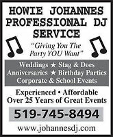 ***DJ SERVICES FOR YOUR SPECIAL EVENT***