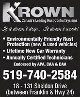 Krown Rust Control Cambridge Hiring