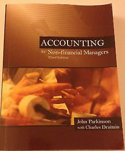 Accounting for Non-Financial Managers - Excellent Condition