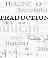 Traductions & révisions de livres & de documents