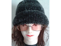 Italian Wooly Hat - Soft and Warm- Fits any size. Plus a pair of spectacles.