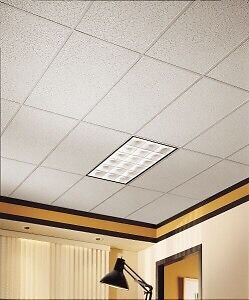 Ceiling tiles new in box 2x4 white