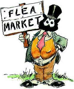 Annual Flea Market and Antique Show in Kenaston, Sk