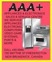 AAA+APPLIANCE&ELECTRONICS SALES &SERVICE CENTRE+APPLIANCE PARTS