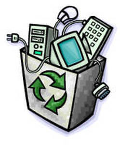 Drop off for your electronic/electric junk
