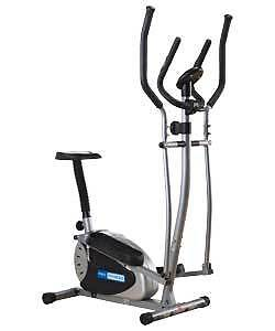 Pro Fitness 2 in 1 Exercise Bike and Cross Trainer **FULLY ASSEMBLED**
