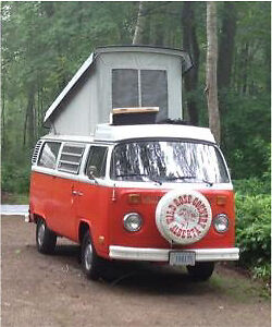 VW  tent canvass