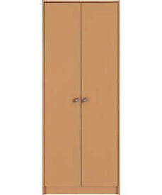 Seville 2 Door Wardrobe - Beech Effect