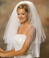 Brand new wedding veils fingertip length