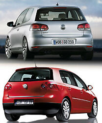 VW Golf Heck - neues vs. altes Design