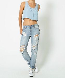 boyfriend jeans g nstig online kaufen bei ebay. Black Bedroom Furniture Sets. Home Design Ideas
