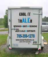 Refrigerated Beer Keg/Food Storage Trailer